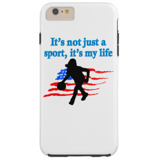 BASKETBALL IS MY LIFE TOUGH iPhone 6 PLUS CASE