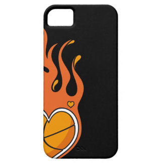 Basketball Is On Fire  - iphone 5 case
