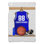 Basketball Jersey Blue and White