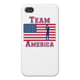 Basketball Jump Shot American Flag Team America iPhone 4/4S Case