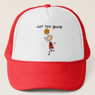 Basketball Just Too Good Tshirts and Gifts Trucker Hat