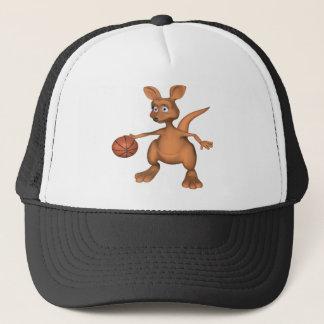 Basketball-Kangaroo Trucker Hat