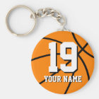 Basketball keychain | Personalised name and number