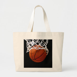Basketball Large Tote Bag