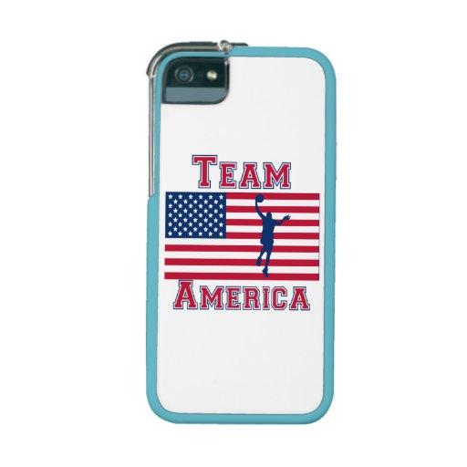 Basketball Layup American Flag Team America iPhone 5 Covers