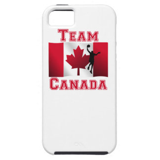 Basketball Layup Canadian Flag Team Canada iPhone 5/5S Covers