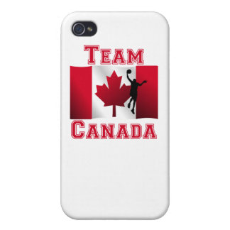 Basketball Layup Canadian Flag Team Canada Cover For iPhone 4