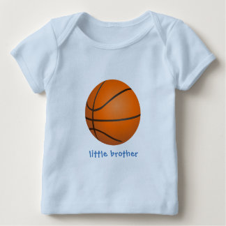 Basketball Little Brother Baby T-Shirt