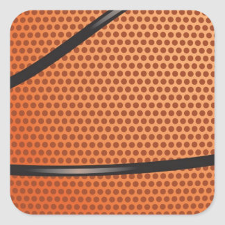 Basketball Look gifts for fans Square Sticker