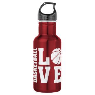 Basketball Love 532 Ml Water Bottle
