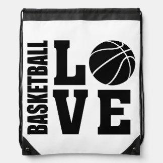 Basketball Love, Basketball Drawstring Bag