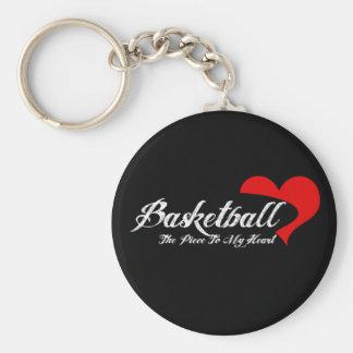 Basketball Love Keychain