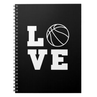 Basketball Love Notebooks