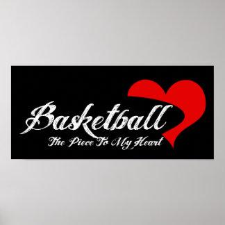Basketball Love Poster