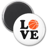 Basketball love refrigerator magnets