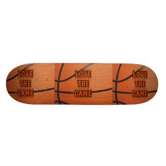 Basketball Love the Game Skate Deck