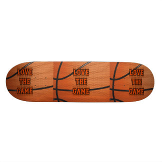 Basketball Love the Game Skate Deck