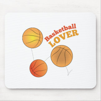Basketball Lover Mouse Pad