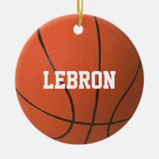 Basketball Lover Personalized Ornament