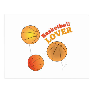 Basketball Lover Post Cards