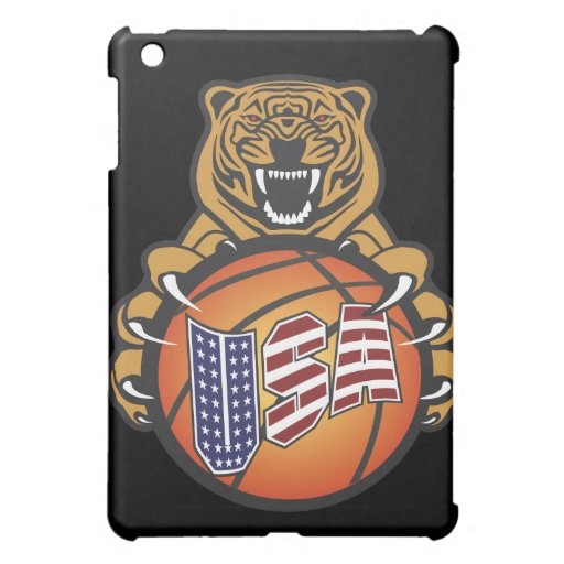 basketball lover tiger - USA Sports Case For The iPad Mini