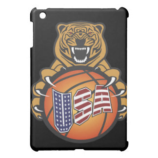 basketball lover tiger - USA Sports iPad Mini Cover