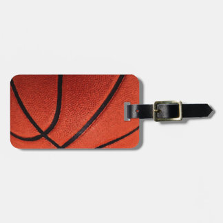 Basketball Luggage Tag