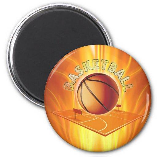 Basketball Refrigerator Magnet