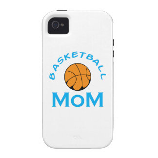 BASKETBALL MOM iPhone 4 COVER