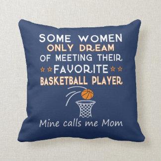 BASKETBALL MOM CUSHION