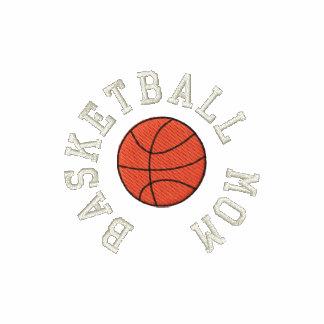 Basketball Mom Embroidered Shirt