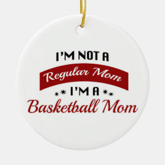 Basketball Mom Ornament