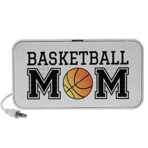 Basketball mom, text design for t-shirt, shirt travel speakers