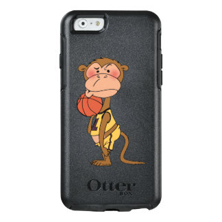 basketball monkey player OtterBox iPhone 6/6s case