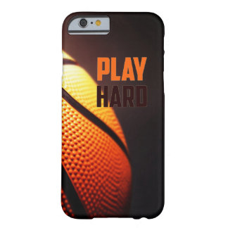 Basketball motivation - play hard by storeman barely there iPhone 6 case