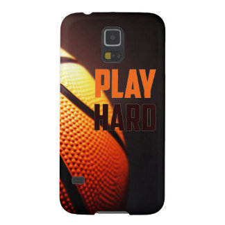 Basketball motivation - play hard by storeman case for galaxy s5