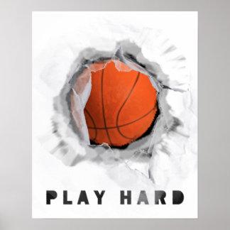 basketball motivation poster