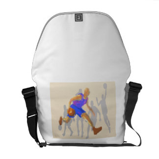 Basketball Moves Art Courier Bag
