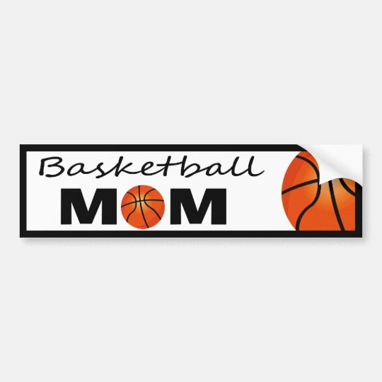 Basketball Mum Bumper Sticker
