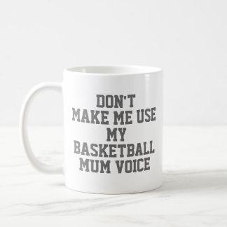 Basketball mum Gift Mug | Funny Quote Slogan Coach