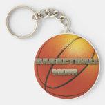 Basketball Mum Keychains