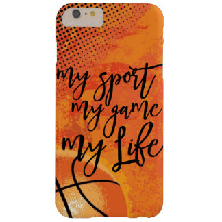 Basketball My Sport My Game My Life Christian Barely There iPhone 6 Plus Case