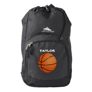 Basketball Name Customize Backpack