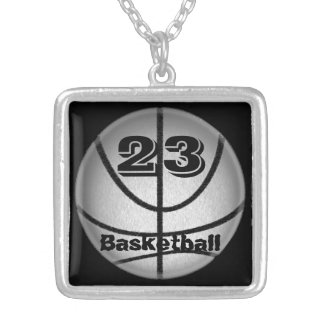 Basketball Necklace with Number Necklaces for Guys