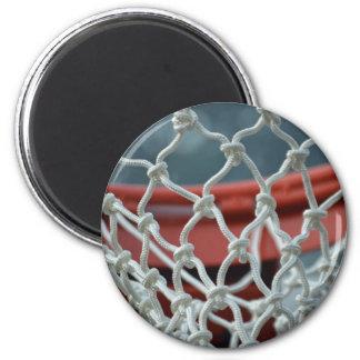 Basketball Net 6 Cm Round Magnet