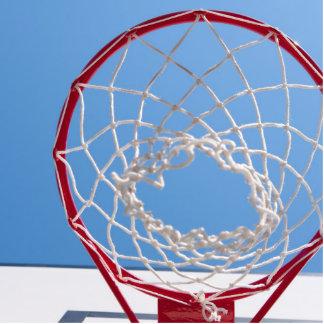 Basketball Net Below Blue Sky Photo Cutout