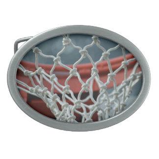 Basketball Net Oval Belt Buckles