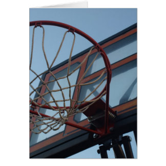 BasketBall Net Greeting Cards