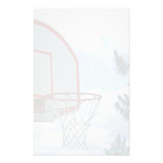 Basketball net customised stationery