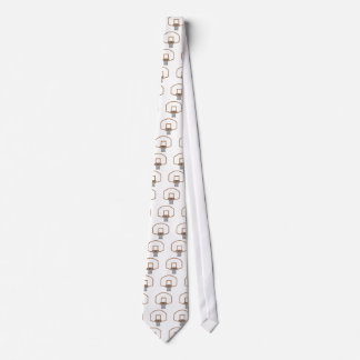 basketball net graphic tie